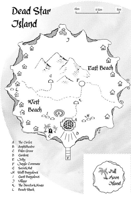 Dead Star Island Map